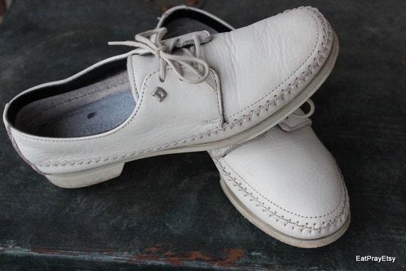 Vintage Womens Dexter Bowling  Shoes Moccasins Style size 8
