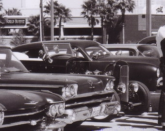 Viva Las Vegas, Rockabilly Weekender - Chopped Dropped and Driven Vintage Cars Photo Series