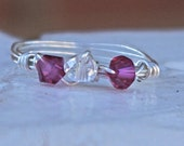 Princess Ring - Wire Wrapped