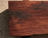 Footed Mesquite Cutting Board . Sushi Service