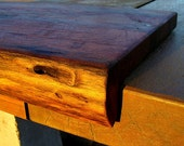 A Natural Drop Edge Cutting Board  .  Made to Order