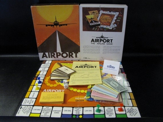 1972 Dynamic Design Industries - Airport: The Airline Game