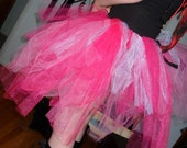 SALE  Hot Pink/ Red/ Glitter White/ Light Pink Fairy Rave TuTu