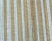Sold By Single Roll of IMPORTED ITALIAN SILK Pinstripe-  Elegant Vintage Retro Wallpaper
