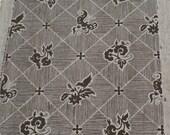 PORTOFINO BLACK Market TEXTURED  Retro Wallpaper Single Roll