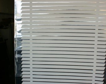 Vintage Retro MINI BLIND MADDNESS) Chrome & White Hand Print Wallpaper Sold by Single Roll