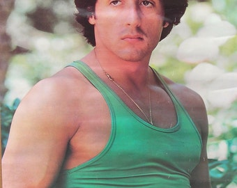 Vintage 1977 Sylvester Sly Stallone Movie Rocky Poster
