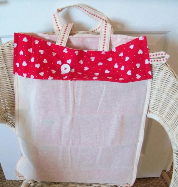 Fold-up Shopping Bag/Tote - Eco Grocery Bag - Strong Book BagUK Seller- UK Seller