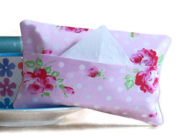 Cotton Tissue Packet Cover with envelope opening