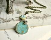 Je T'aime Plus Qu'Hier Moins Que Demain Paris Necklace - Free Worldwide Shipping