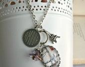 Winter in Paris Pendant Necklace