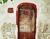 Door No. 001 - 6x8 - Nature Wall Art - Art Print - Fine Art Photo - door - anchor
