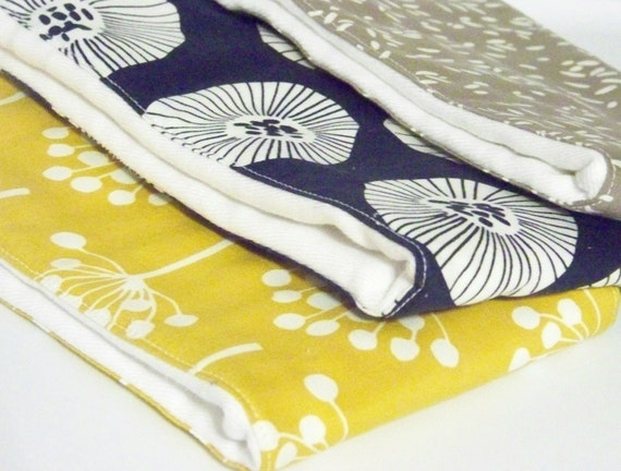 Burp Cloths - Cloth Diapers - Modern Baby - Echo Fabric