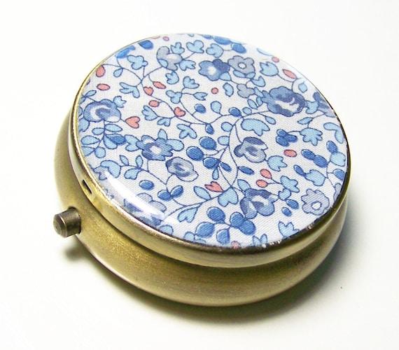 Small Box - Floral Box - Pill Case - Pill Box - Trinket Box