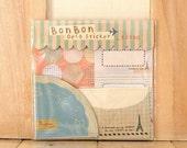 14 Sheets Korea Bon Bon Deco Sticker vintage Set - Restore ancient ways tag name sticker suit Paper Tape