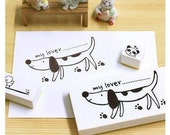 Korea DIY Somssi natural  Diary stamp rubber stamps set -My Baby