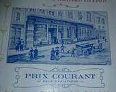 Victorian Edwardian, Grocery Magazine Epicerie Parisienne, Circa 1880-1910