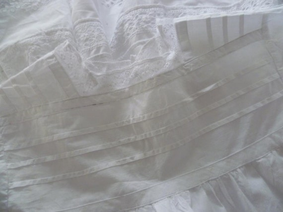 Christening Robe, Gown,  Beautiful Victorian, Edwardian , French Circa 1900