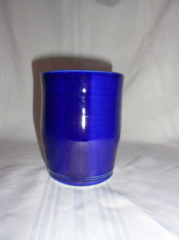 Cobalt Blue Huge Cup / Pen Holder / Spatula Cup