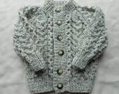 Baby boy Aran sweater