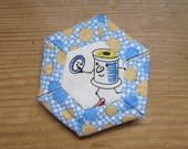 Needle Case, Whimsical Dancing Spool
