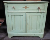 Cute Mint Green Painted Chest