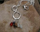 Family Pendant Necklace - Figure Eight