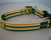 University of Oregon Ducks Dog Collar