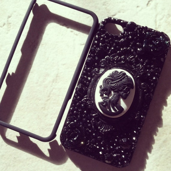 Black Gothic Lolita Iphone4 Case