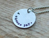 I Choose Joy Christian Necklace
