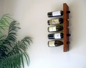 Wine Rack - English Chestnut Wood - Wall Decor