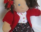 "SPRING SALE15"" organic waldorf inspired doll Rozali"