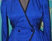 Vintage Women's 100% Silk Long Sleeve Blouse