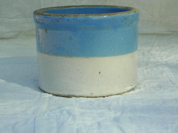 Antique Vintage Primitive Stoneware Crock