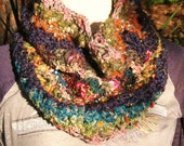 Chunky Colorful Infinity Scarf