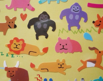 Planner Stickers, Kawaii stickers,Filofax,hobonichi,midori,erincondren,MW kiiro-yuruani