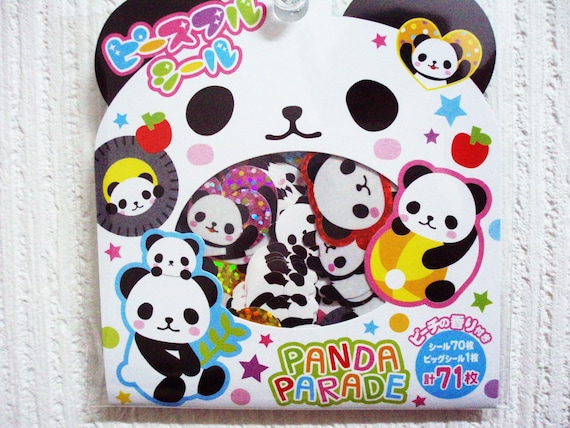Kawaii sticker Panda ((CHARITY SALE for Japan Tsunami Victim))