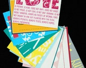 Printable Sunshine Notes: Love Birds Mix