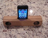 IPhone Wood Acoustic Speaker (White Oak)
