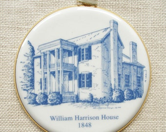 Franklin, TN, Ornament Honors the Historic William Harrison House