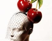 Estelle / Big Cherry Headpiece