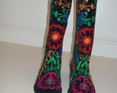 WONDERFULLY EMBROIDERED BOOTS