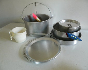 SALE // v i n t a g e SEARS camping mess kit