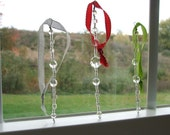 Christmas Ornaments - Glass Beaded Icicle Ornament