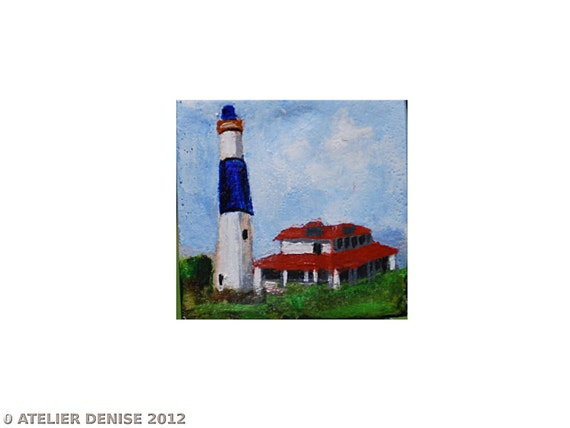Benefits Hurricane Relief Absecon Lighthouse  Christmas Ornament