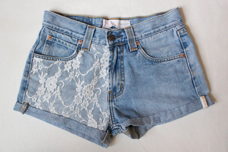 custom vintage style levi high waisted shorts. Black Bedroom Furniture Sets. Home Design Ideas