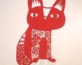 Milo, the tatoed cat