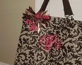 SALE Best Beach Bag Ever  Reisenthel Shopper XL with Monogram Free Shipping
