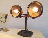 Antique tractor headlights