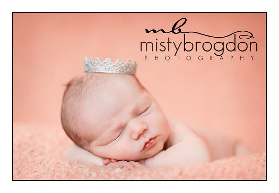 Newborn Lace Crown Photography Prop